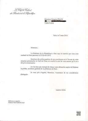 lettre francois hollande